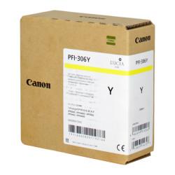 Canon - Canon PFI-306Y/6660B001 Sarı Orjinal Kartuş