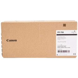 Canon - Canon PFI-706PGY/6691B001 Foto Gri Orjinal Kartuş