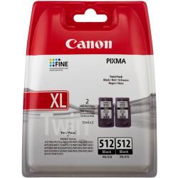 Canon - Canon PG-512 Siyah Orjinal Kartuş Yüksek Kapasiteli 2li Paket
