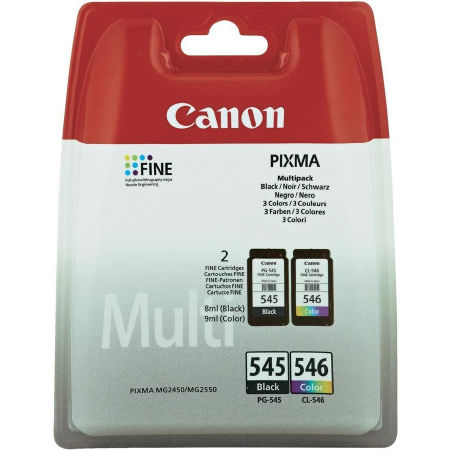 Canon PG-545/CL-546/8287B005 Orjinal Kartuş Avantaj Paketi