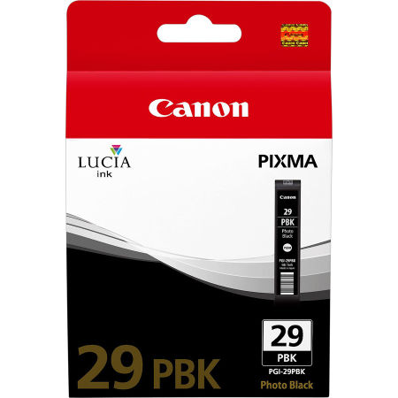 Canon PGI-29/4869B001 Foto Siyah Orjinal Kartuş