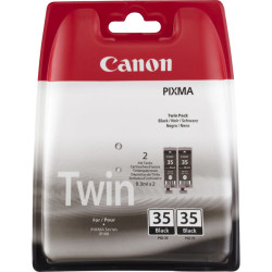 Canon - Canon PGI-35 Siyah Orjinal Kartuş İkili Paket