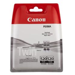 Canon - Canon PGI-520/2932B012 Siyah Orjinal Kartuş İkili Paket