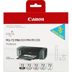 Canon - Canon PGI-72/6403B007 PBK/GY/PM/PC/CO Orjinal Kartuş Paketi