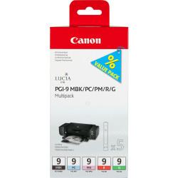 Canon - Canon PGI-9/1033B013 MBK/PC/PM/R/G Orjinal Kartuş Avantaj Paketi