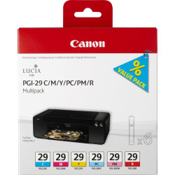 Canon - Canon PGI-29/4873B005 C/M/Y/PC/PM/R Orjinal Kartuş Paketi