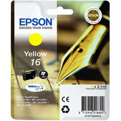 Epson - Epson 16-T1624-C13T16244020 Sarı Orjinal Kartuş