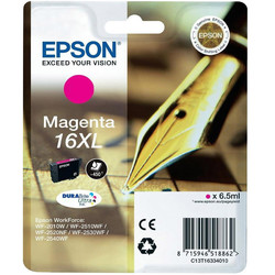 Epson - Epson 16XL-T1633-C13T16334020 Kırmızı Orjinal Kartuş