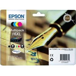 Epson - Epson 16XL-T1636-C13T16364020 Orjinal Kartuş Avantaj Paketi