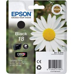Epson - Epson 18-T1801-C13T18014020 Siyah Orjinal Kartuş