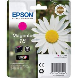 Epson - Epson 18-T1803-C13T18034020 Kırmızı Orjinal Kartuş