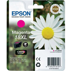 Epson - Epson 18XL-T1813-C13T18134020 Kırmızı Orjinal Kartuş