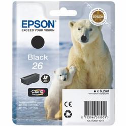 Epson - Epson 26-T2601-C13T26014020 Siyah Orjinal Kartuş