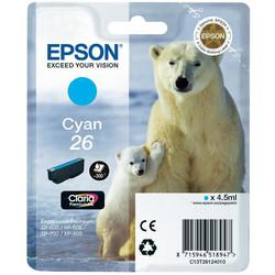 Epson - Epson 26-T2612-C13T26124020 Mavi Orjinal Kartuş