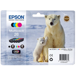 Epson - Epson 26-T2616-C13T26164020 Orjinal Kartuş Ekonomik Seti
