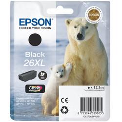 Epson - Epson 26XL-T2621-C13T26214020 Siyah Orjinal Kartuş