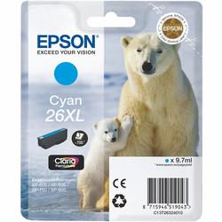 Epson - Epson 26XL-T2632-C13T26324020 Mavi Orjinal Kartuş