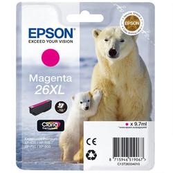 Epson - Epson 26XL-T2633-C13T26334020 Kırmızı Orjinal Kartuş