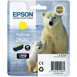 Epson - Epson 26XL-T2634-C13T26344020 Sarı Orjinal Kartuş