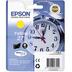 Epson - Epson 27-T2704-C13T27044020 Sarı Orjinal Kartuş