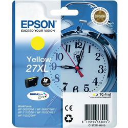 Epson - Epson 27XL-T2714-C13T27144020 Sarı Orjinal Kartuş Yüksek Kapasiteli