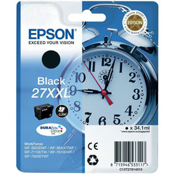 Epson - Epson 27XXL-T2791-C13T27914020 Siyah Orjinal Kartuş Extra Yüksek Kapasiteli