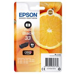 Epson - Epson 33-C13T33414022 Foto Siyah Orjinal Kartuş
