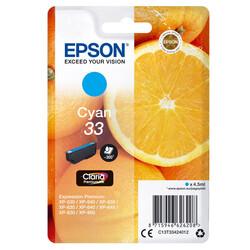 Epson - Epson 33-C13T33424022 Mavi Orjinal Kartuş