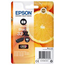 Epson - Epson 33-C13T33614022 Foto Siyah Orjinal Kartuş Yüksek Kapasiteli