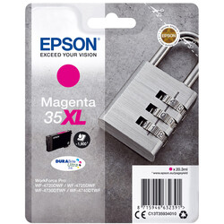 Epson - Epson 35XL-C13T35934020 Kırmızı Orjinal Kartuş Yüksek Kapasiteli