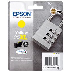 Epson - Epson 35XL-C13T35944020 Sarı Orjinal Kartuş Yüksek Kapasiteli