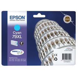 Epson - Epson 79XL-T7902-C13T79024010 Mavi Orjinal Kartuş Yüksek Kapasiteli