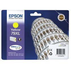 Epson - Epson 79XL-T7904-C13T79044010 Sarı Orjinal Kartuş Yüksek Kapasiteli