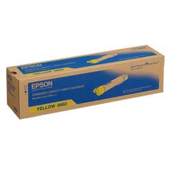 Epson - Epson AL-C500/C13S050660 Sarı Orjinal Toner