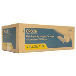 Epson - Epson C2800-C13S051158 Sarı Orjinal Toner Yüksek Kapasiteli