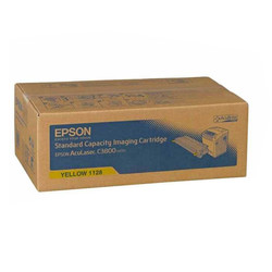 Epson - Epson C3800-C13S051128 Sarı Orjinal Toner