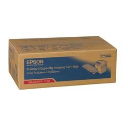 Epson - Epson C3800-C13S051129 Kırmızı Orjinal Toner