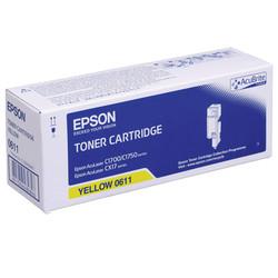 Epson - Epson CX-17/C13S050611 Sarı Orjinal Toner Yüksek Kapasiteli