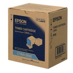 Epson - Epson CX-37/C13S050592 Mavi Orjinal Toner