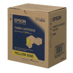 Epson - Epson CX-37/C13S050590 Sarı Orjinal Toner