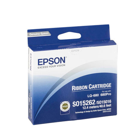 Epson LQ-2550/C13S015262 Orjinal Şerit
