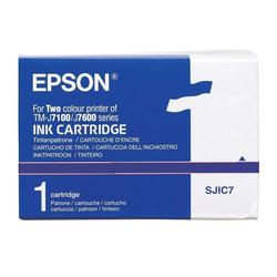 Epson - Epson SJIC7-C33S020404 Blue Orjinal Kartuş
