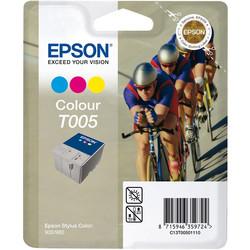 Epson - Epson T005-C13T00501120 Renkli Orjinal Kartuş