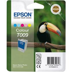 Epson - Epson T009-C13T00940120 Renkli Orjinal Kartuş