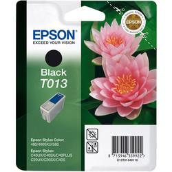 Epson - Epson T013-C13T01340120 Siyah Orjinal Kartuş