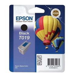 Epson - Epson T019-C13T01940120 Siyah Orjinal Kartuş