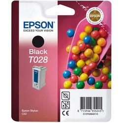 Epson - Epson T028-C13T02840120 Siyah Orjinal Kartuş