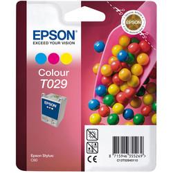 Epson - Epson T029-C13T02940120 Renkli Orjinal Kartuş