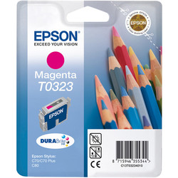 Epson - Epson T0323-C13T03234020 Kırmızı Orjinal Kartuş