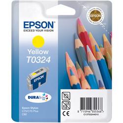 Epson - Epson T0324-C13T03244020 Sarı Orjinal Kartuş